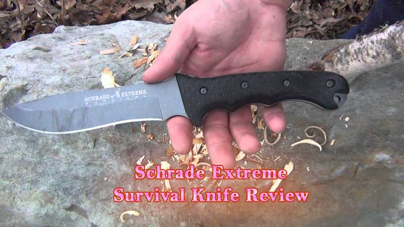 Schrade Extreme Survival Knife Review