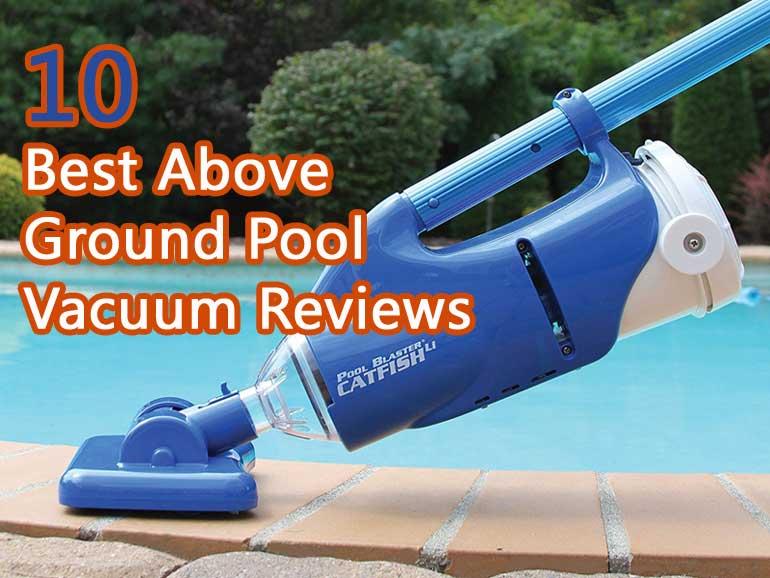 Pool Vacuum Reviews - Magazine cover